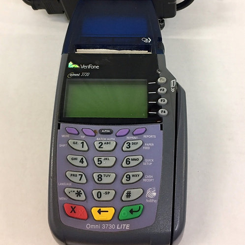 USED -Omni 3730 Credit Card Terminal / Printer by Verifone