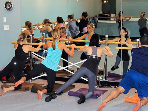 USED - Floor Mounted Ballet Barres