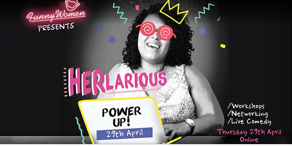 HERlarious Power UP! Business networking event