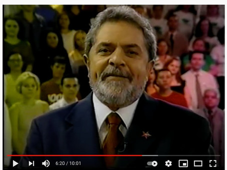 A esperança vai vencer o medo — Luiz Inácio Lula da Silva
