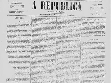 Primeiro documento de comunicação política no Brasil