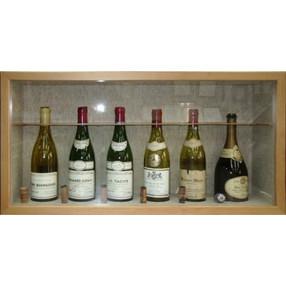 ヴィンテージワインボトル用の特製額