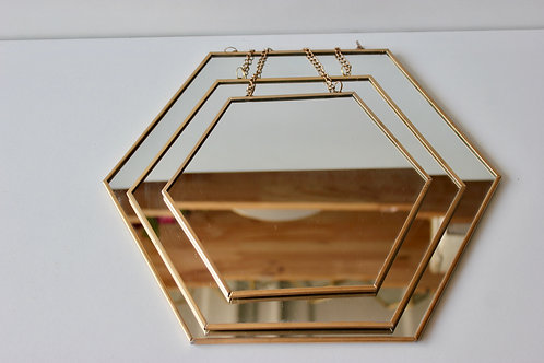 Ensemble de miroir gold
