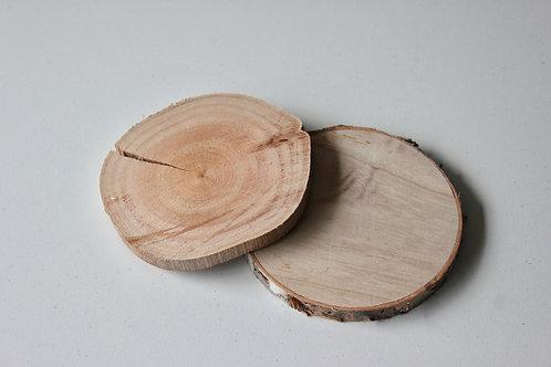 Centre de table en bois