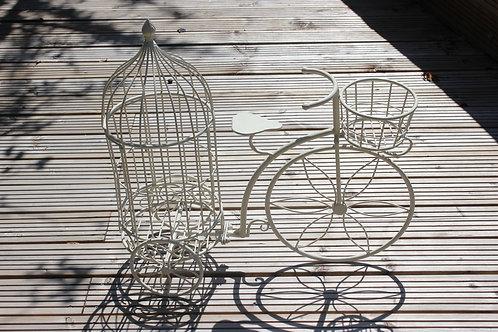 Cage à oiseaux - vélo