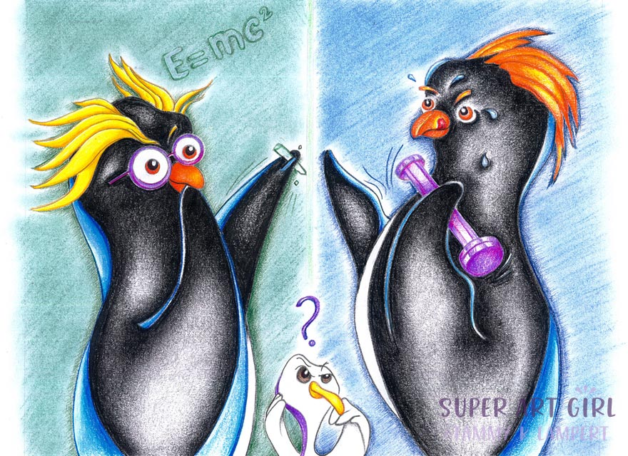 Penguin Pals: Together Yet Different