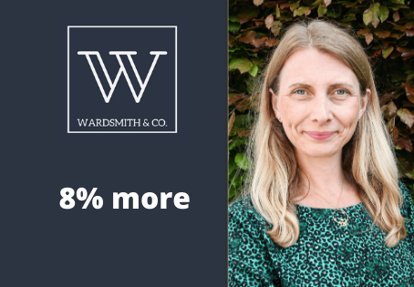 Find out how we can get 8% more for your home