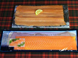 Smoked Salmon - Whole Sliced 1kg pack