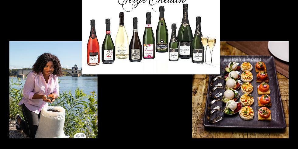 Dégustation Accords Poivre de Penja  & Champagne Serge Cheutin
