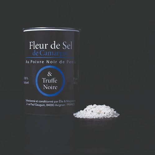 Fleur de Sel de Camargue & Truffe Noire du Ventoux - 100 gr