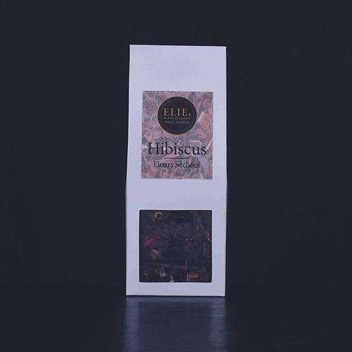 Hibiscus - Fleurs séchées bio Sachet 50 gr