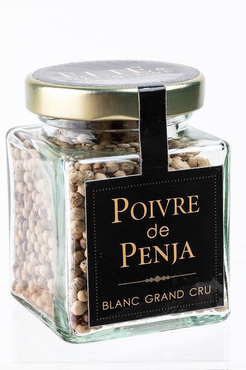 Flacon 55 g de Poivre de Penja Blanc Grand cru