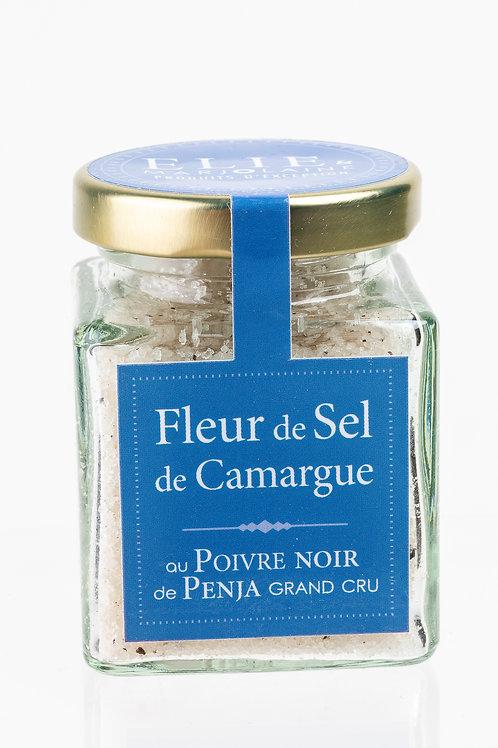 Fleur de Sel de Camargue au Poivre Noir de Penja Grand Cru