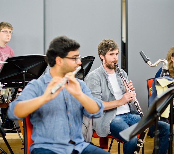 Rehearsal of 'The Cry of the Double Bass'