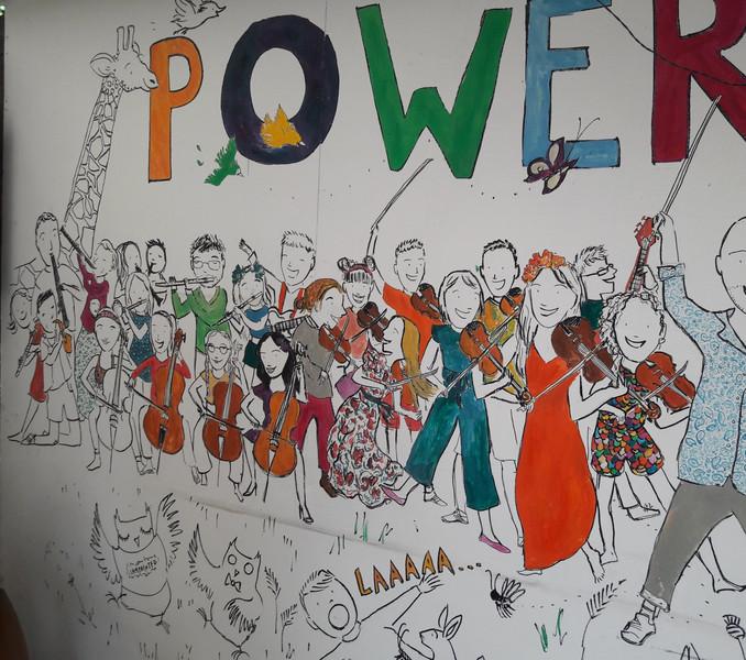 Folk Ensemble, Power Folk