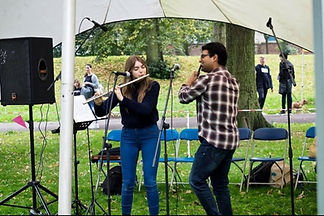 Flute Arjun Jethwa - Picture Derby Arbor