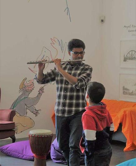 Flute Arjun Jethwa - Picture taken by St