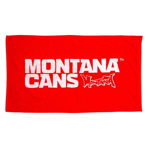 MONTANA BEACH TOWEL RED