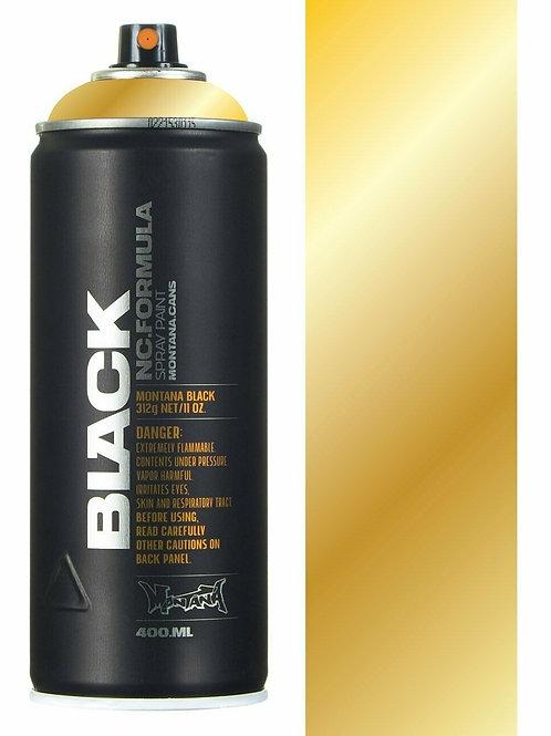 GOLD CHROME. MONTANA BLACK 400ml