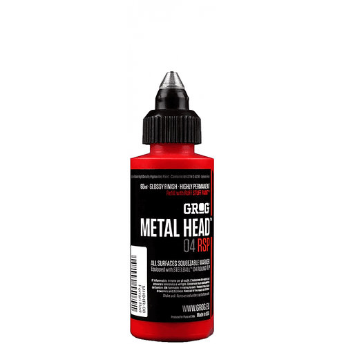 GROG METAL HEAD 04MM RSP