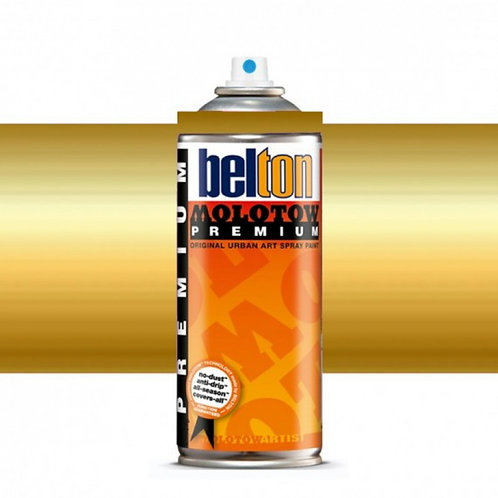 MOLOTOW PREMIUM 400ML. GOLD DOLLAR