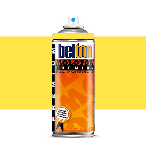 MOLOTOW PREMIUM 400ML. ZINC YELLOW