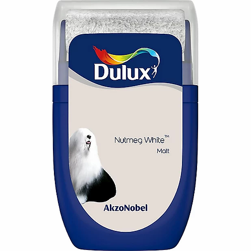 DULUX. MINI ROLLER. NUTMEG WHITE. MATT.