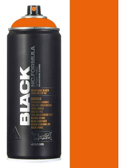 PURE ORANGE. MONTANA BLACK 400ml: