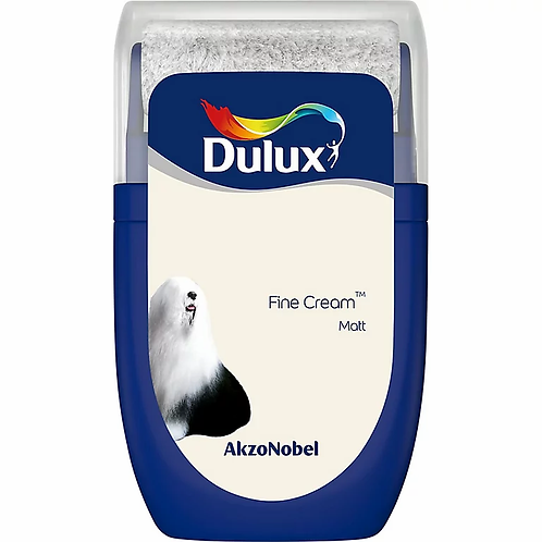 DULUX. MINI ROLLER. FINE CREAM . MATT.