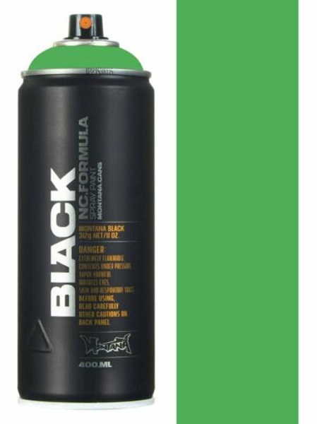 REVOLT GREEN. MONTANA BLACK 400ml