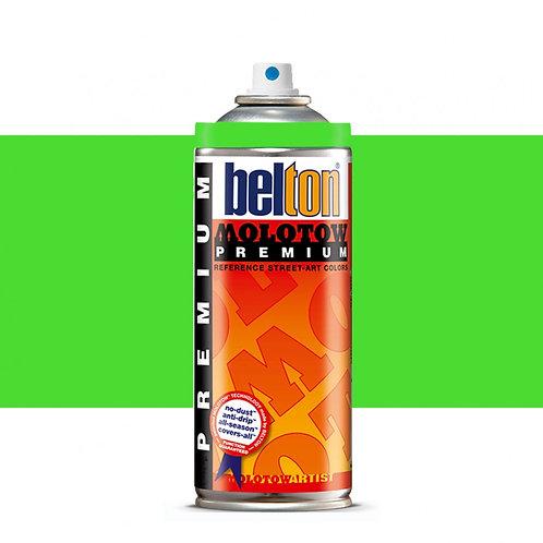 MOLOTOW PREMIUM 400ML. NEON GREEN