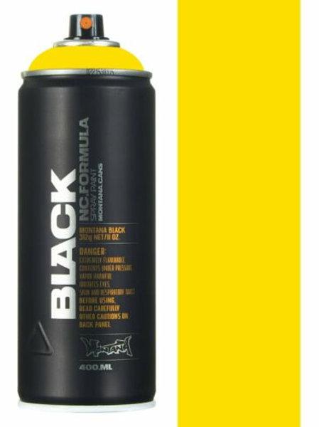 POWER YELLOW. MONTANA BLACK 400ml