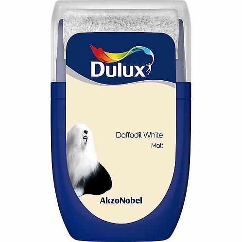 DULUX. MINI ROLLER. DAFFODIL WHITE . MATT
