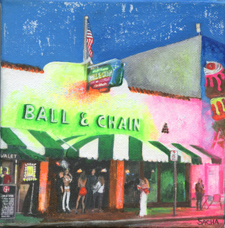 Ball & Chain bar, Miami, Florida