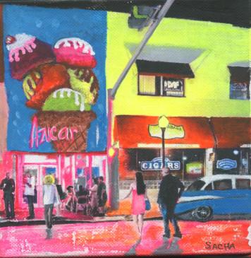 Azucar Ice Cream, Miami, Florida