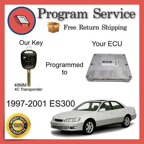 1997-2001 Lexus ES300 ECU to Key Programming Service