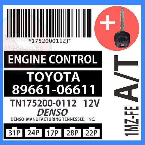 89661-06611 W/ Programmed Master Key Toyota Camry