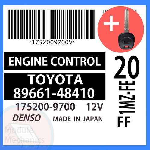 89661-48410  ECU W/ Programmed Master Key Toyota Highlander