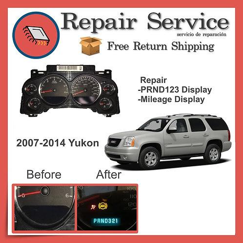 2007-2014 GMC Yukon Gauge Cluster Repair Service