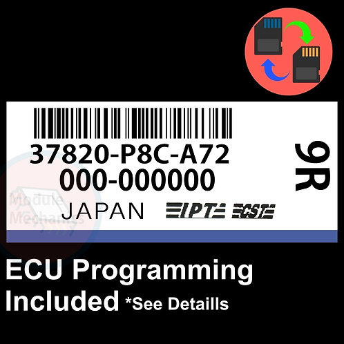 37820-P8C-A72 ECU W/ Immobilizer / Security Programming Honda Accord