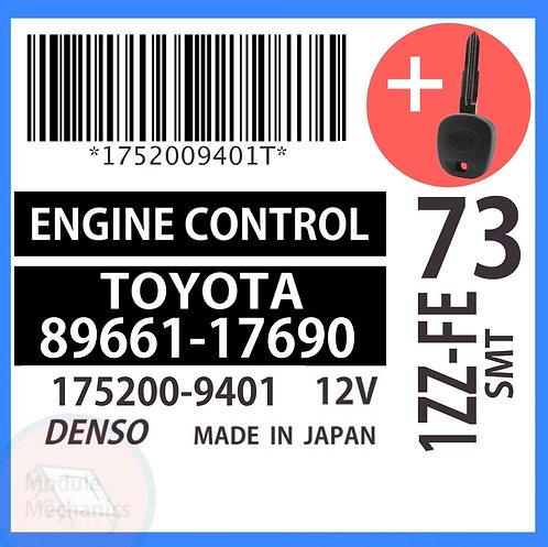 89661-17690 OEM ECU W/ Programmed Master Key Toyota MR2
