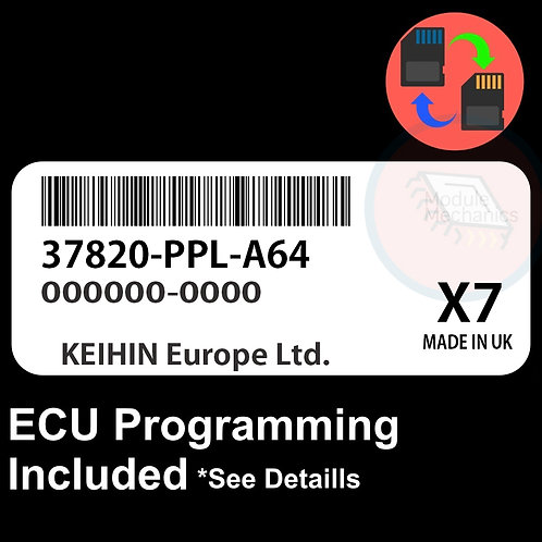 37820-PPL-A64 ECU W/ Immobilizer / Security Programming Honda CR-V