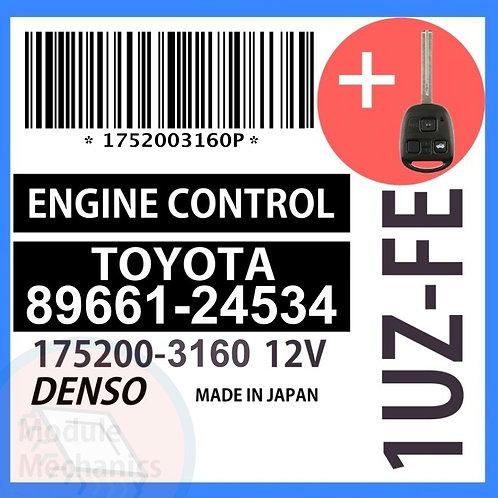 89661-24534 OEM ECU W/ Programmed Master Key Lexus SC400