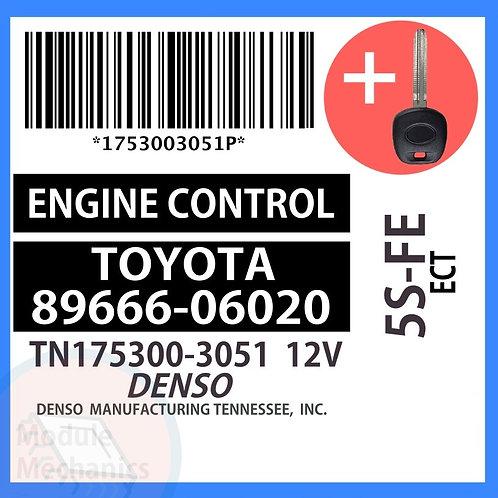 89666-06020 W/ Programmed Master Key Toyota Camry