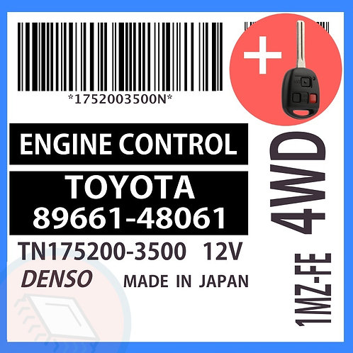 89661-48061 OEM ECU W/ Programmed Master Key Lexus RX300