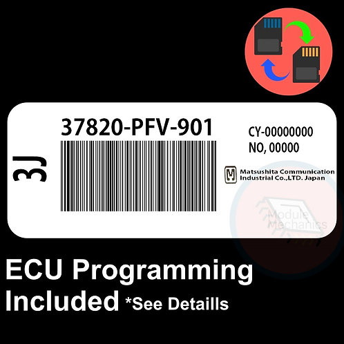 37820-PFV-901 ECU W/ Immobilizer / Security Programming Honda Accord