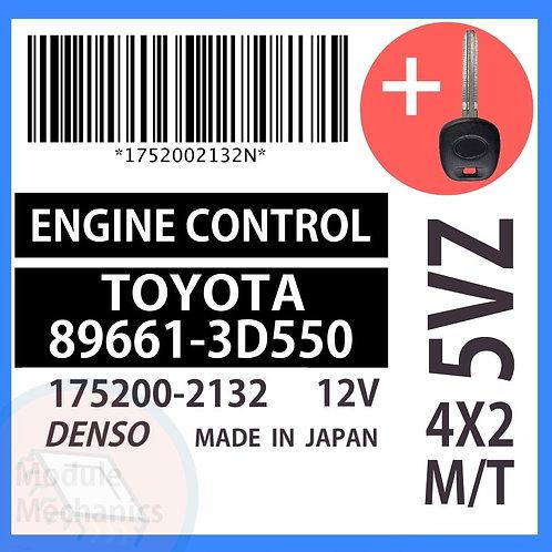 89661-3D550 OEM ECU W/ Programmed Master Key Toyota 4Runner