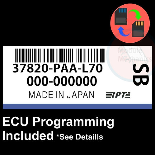 37820-PAA-L70 ECU W/ Immobilizer / Security Programming Honda Accord