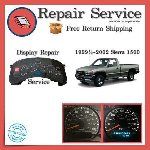 1999-2002 GMC Sierra Gauge Cluster Repair Service