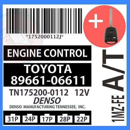 89661-06611 OEM ECU W/ Programmed Master Key Lexus ES300